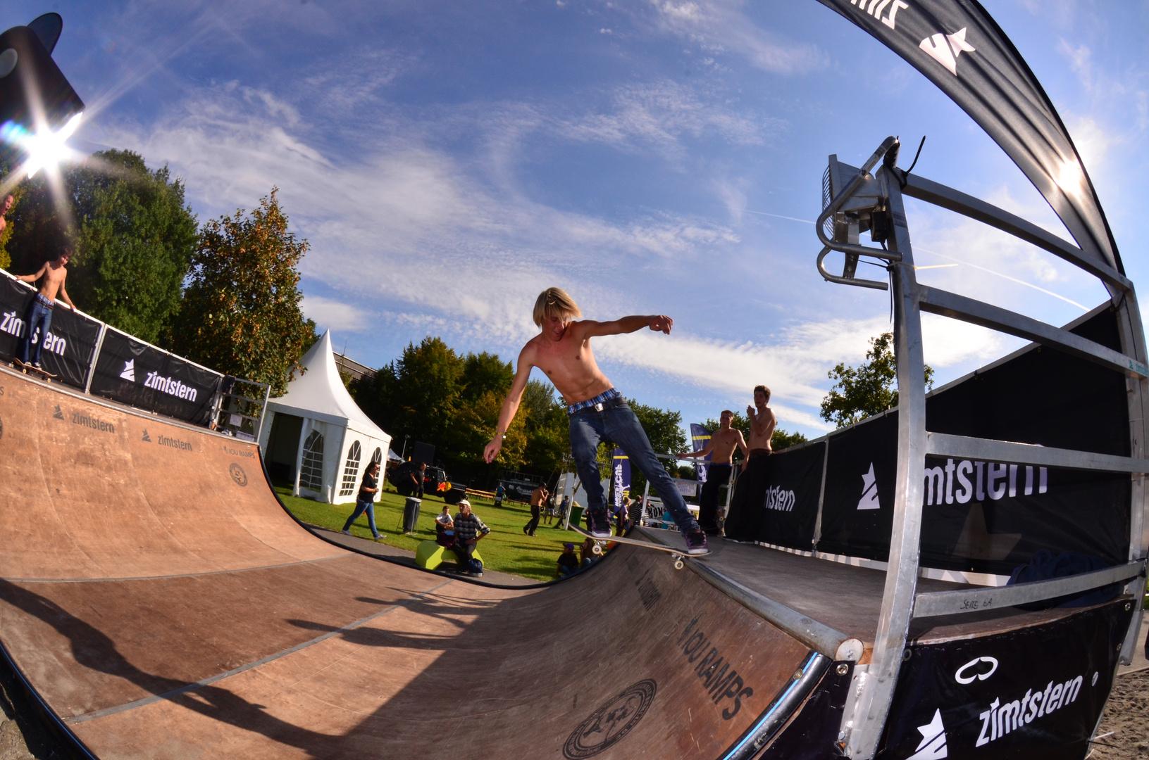 Skater in freakwave festival ( Bregenz 2011 ).