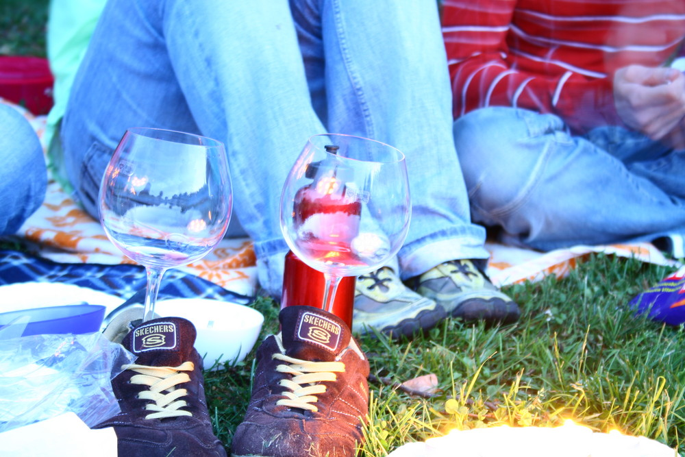 Skechers Weinglas