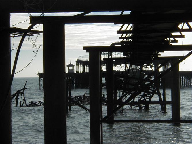 Skellett eines Piers