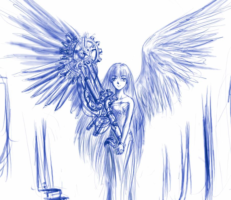 sketch_angel