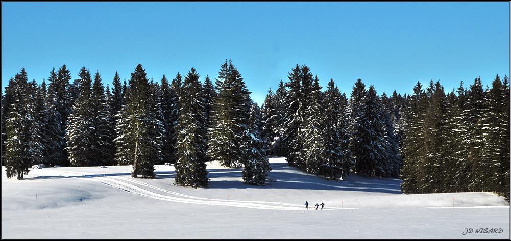 ....Ski de fond dans le Jura....