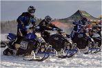 Ski-Doo race ... Motocross in Lappland