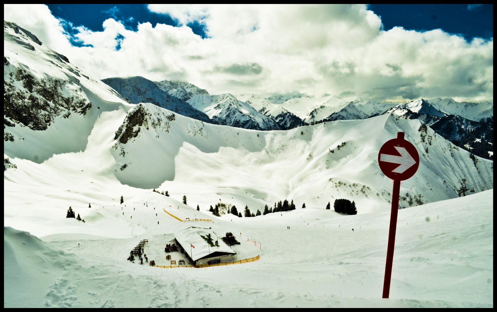 Ski fahren - Fellhorn/Kanzelwand