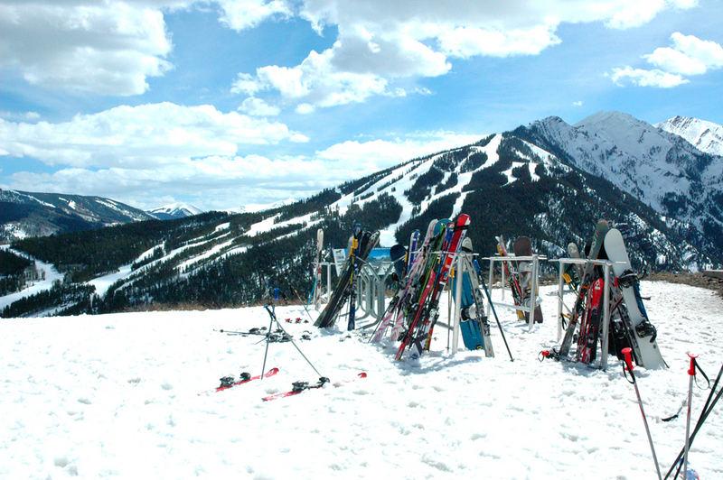 Ski-ing In Aspen