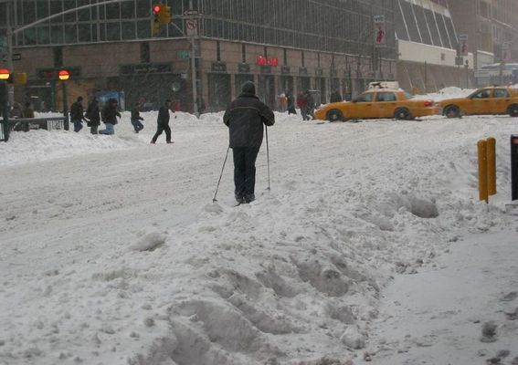 Ski & Rodel gut in Manhattan
