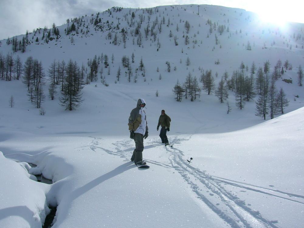 Skieurs…