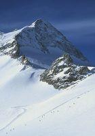 Skifahren auf dem Tuxer Gletscher