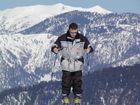Skifahren in luftiger Höhe