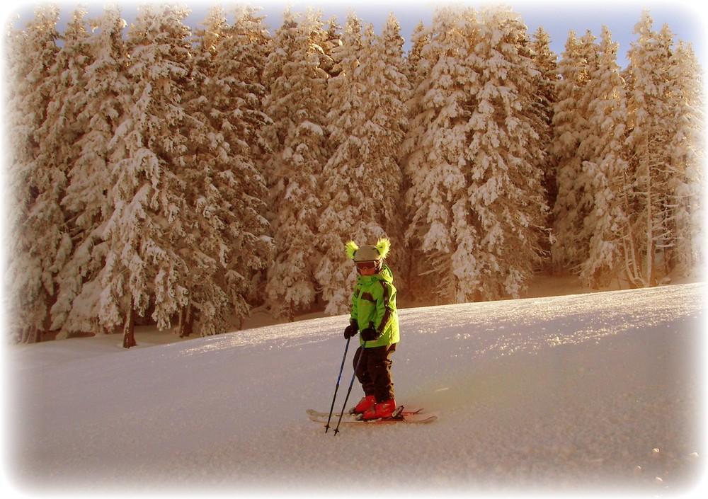Skifahren ist super ...