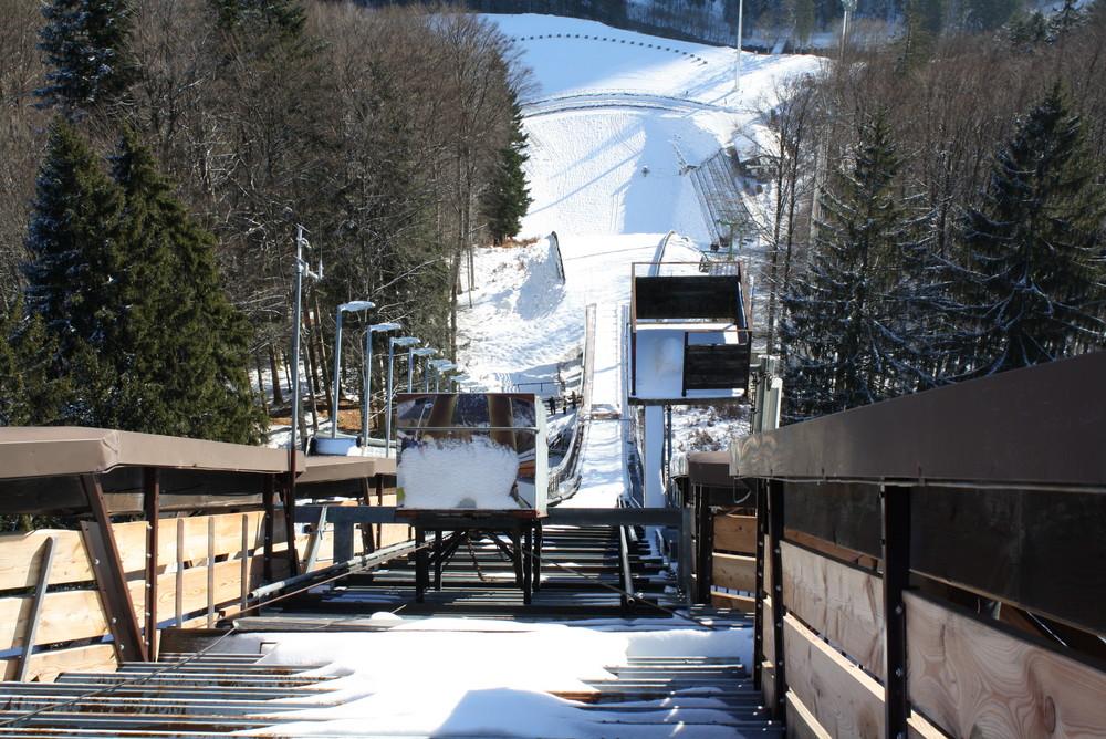 Skiflugschanze Tisch