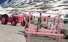 Skifreizeit in Pink
