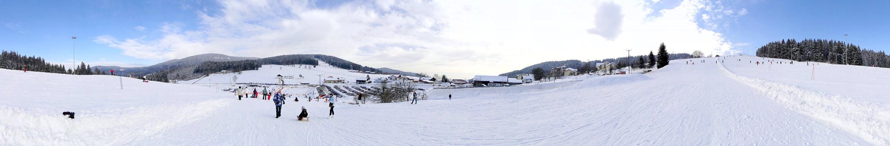 Skihang Grün/Maibrunn bei St. Englmar