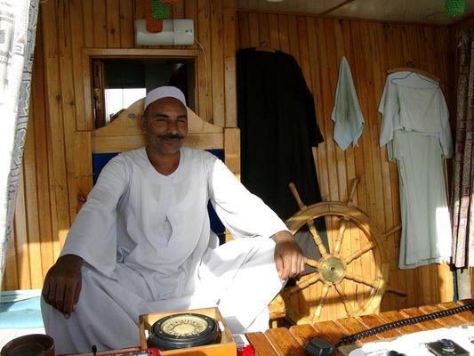 Skipper auf dem Nasser-See