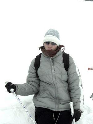 Skiprofi-Anwärterin