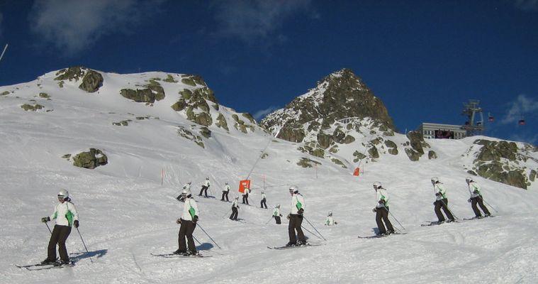 Skischulklasse