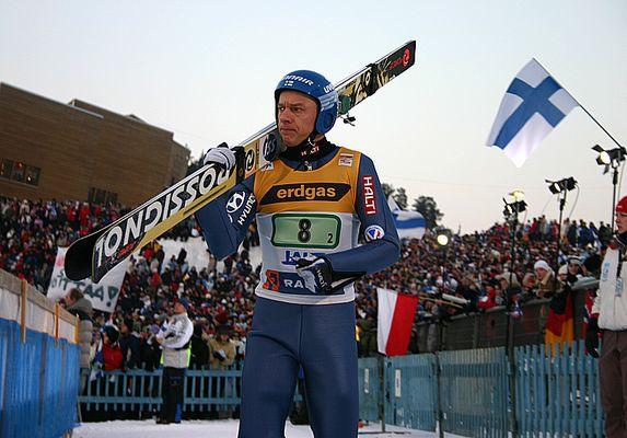 Skispringen: Risto Jussilainen