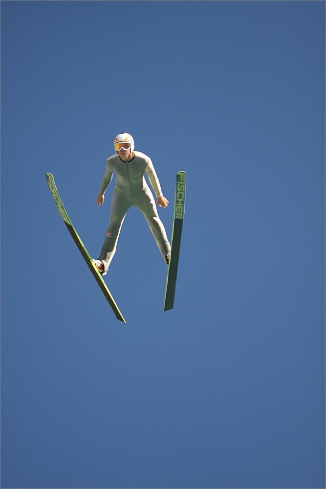 Skisprungtraining - Lillehammer
