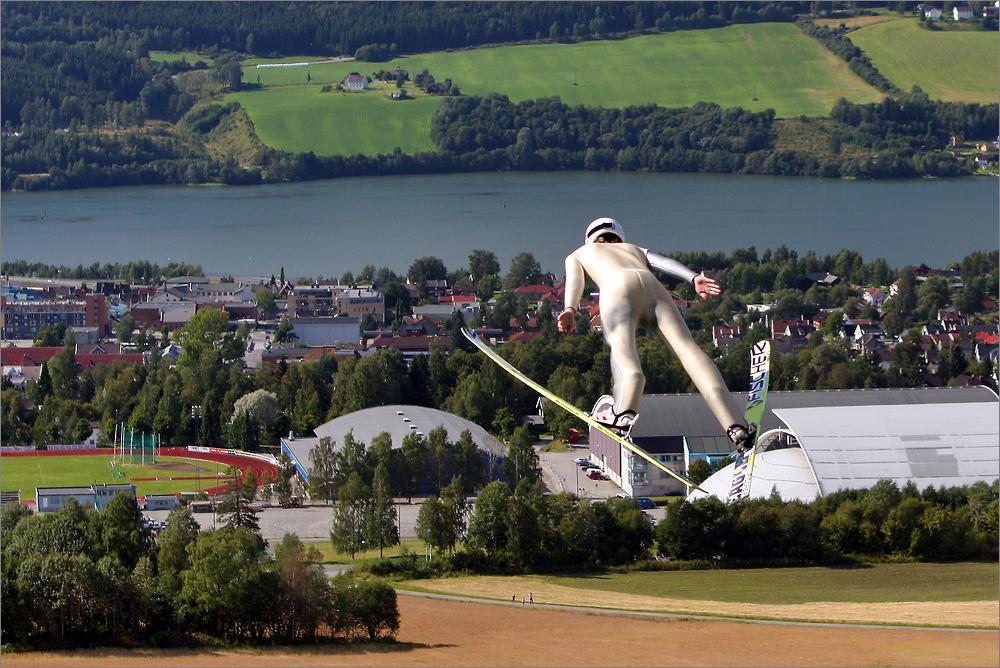 Skisprungtraining - Lillehammer II