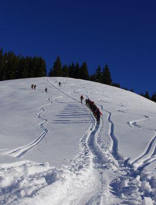 Skitour zum Schmittenstein