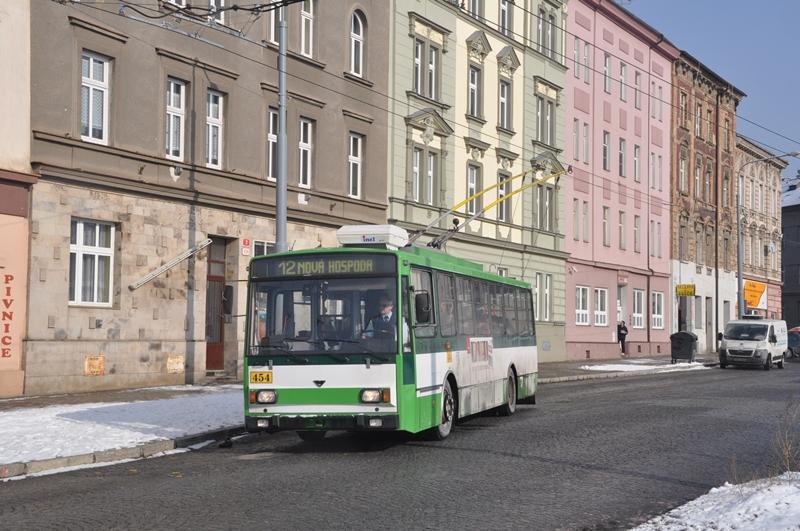 Skoda 14Tr O-Bus in Plzen
