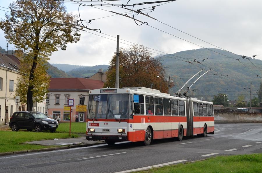 Skoda 15Tr in Usti auf der Linie 59