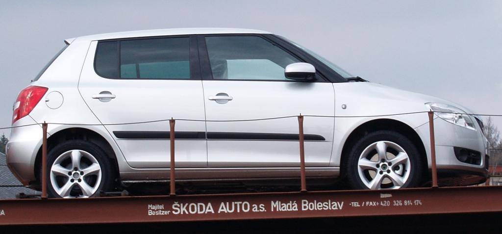 Skoda Fabia-model 2008