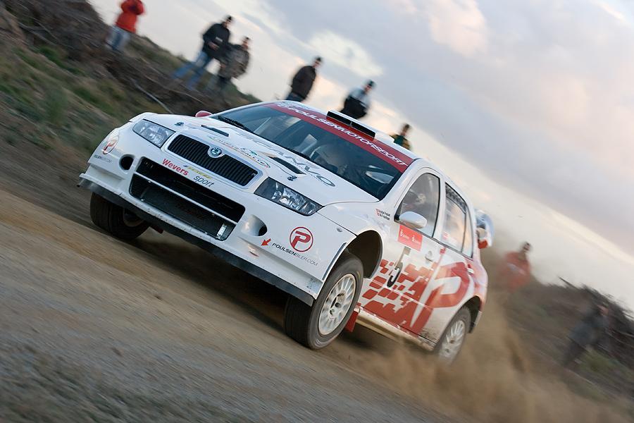 Skoda Fabia WRC (Lausitzrallye ´07)