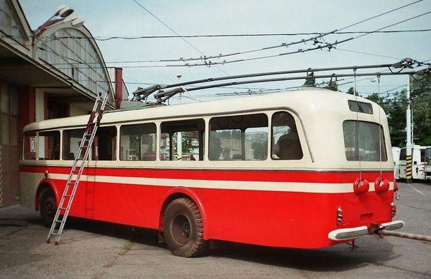 Skoda-Obus aus den 50er bzw. 60er Jahren