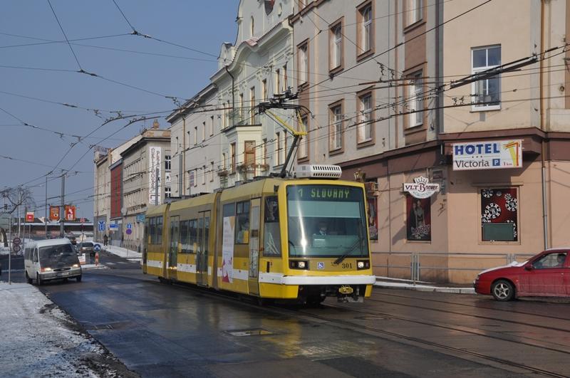 Skoda Strassenbahn in Plzen