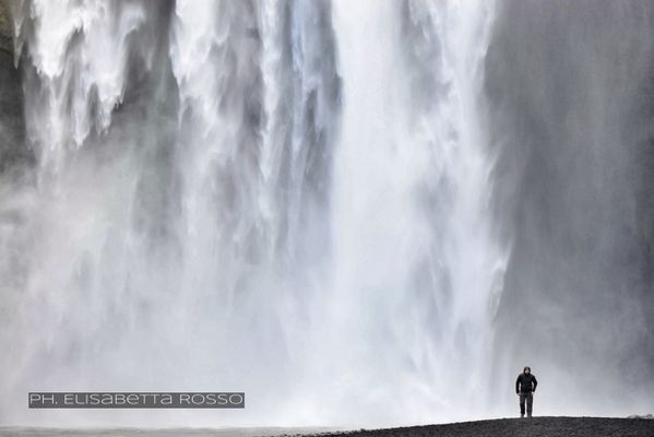 Skogafoss waterfall (Iceland)