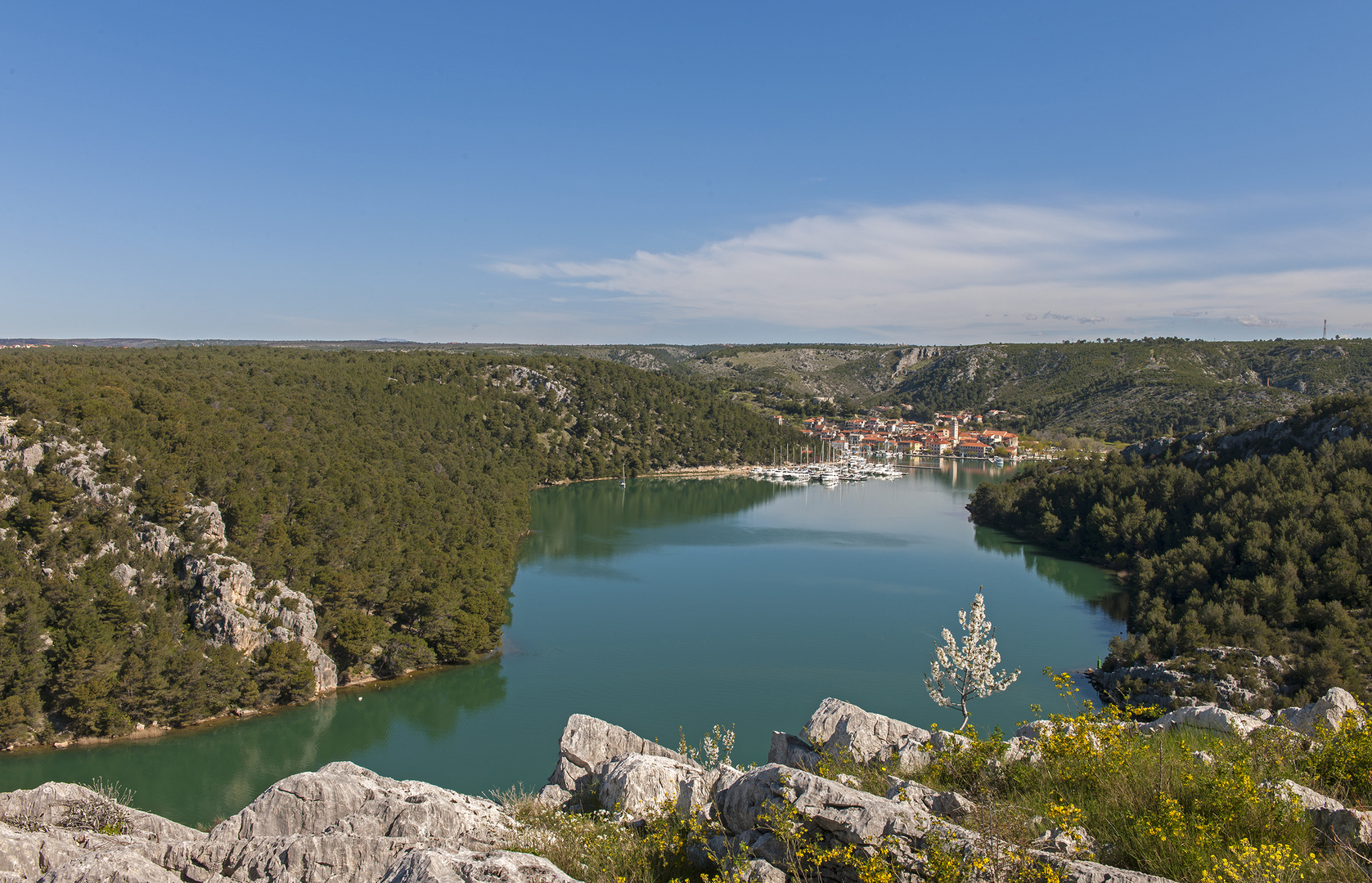 Skradin Kroatien