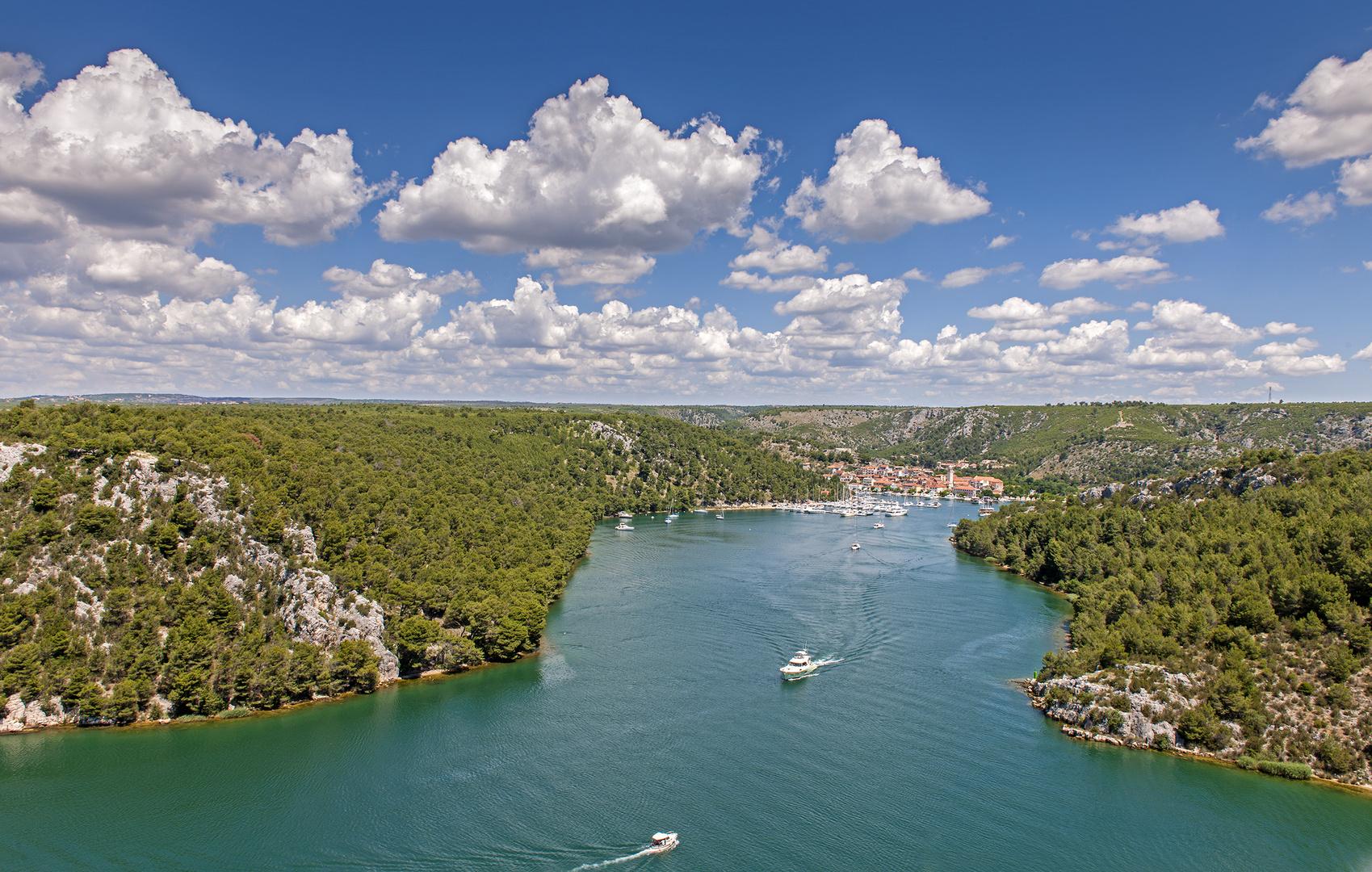 Skradin Kroatien 2