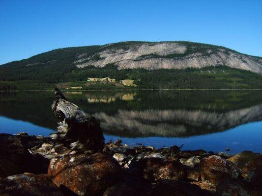 Skravatn - still ruht der See