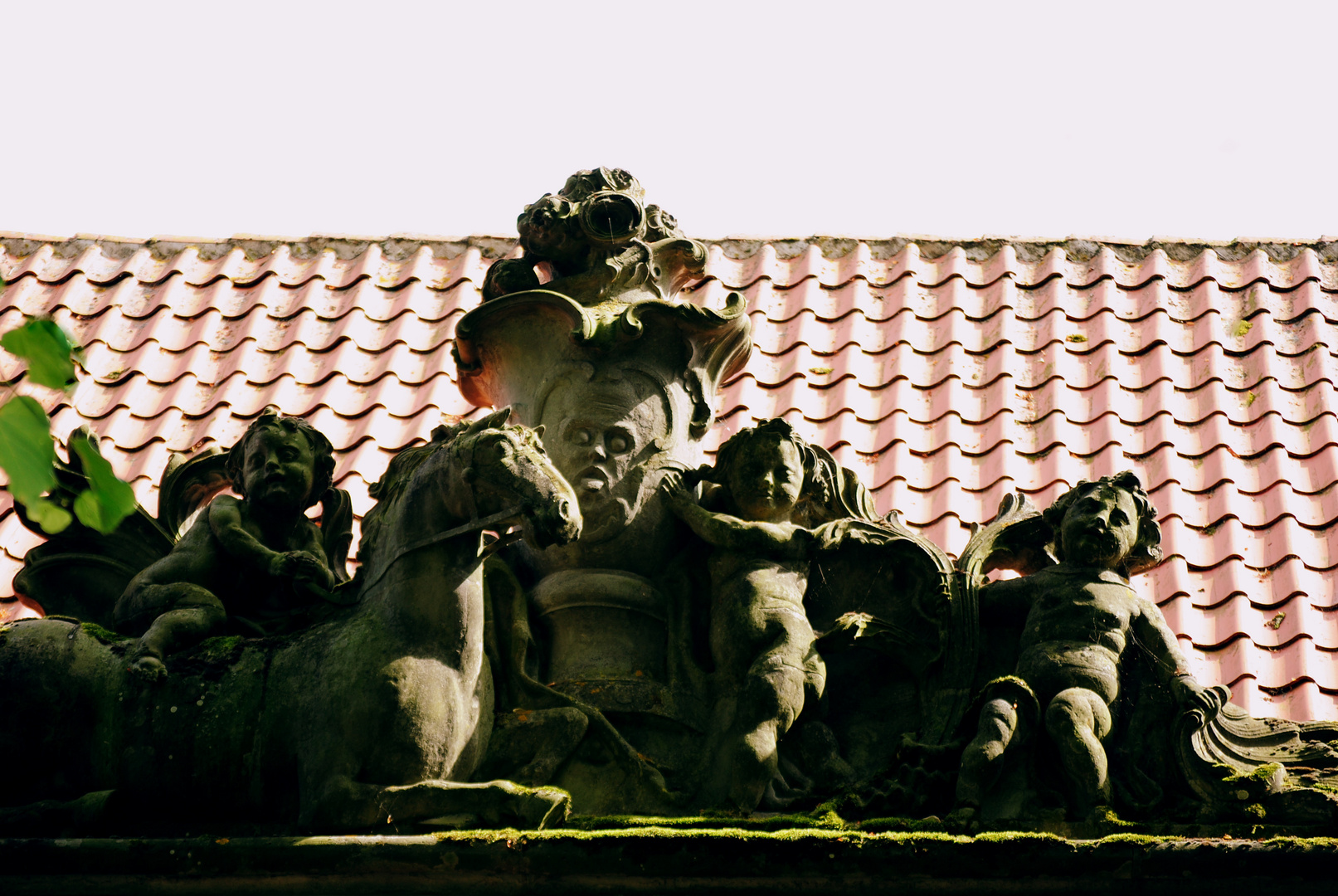 Skulptur am Plöner Schloss