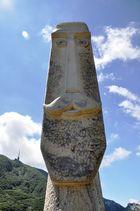 Skulptur auf dem Monte Tamaro - CH
