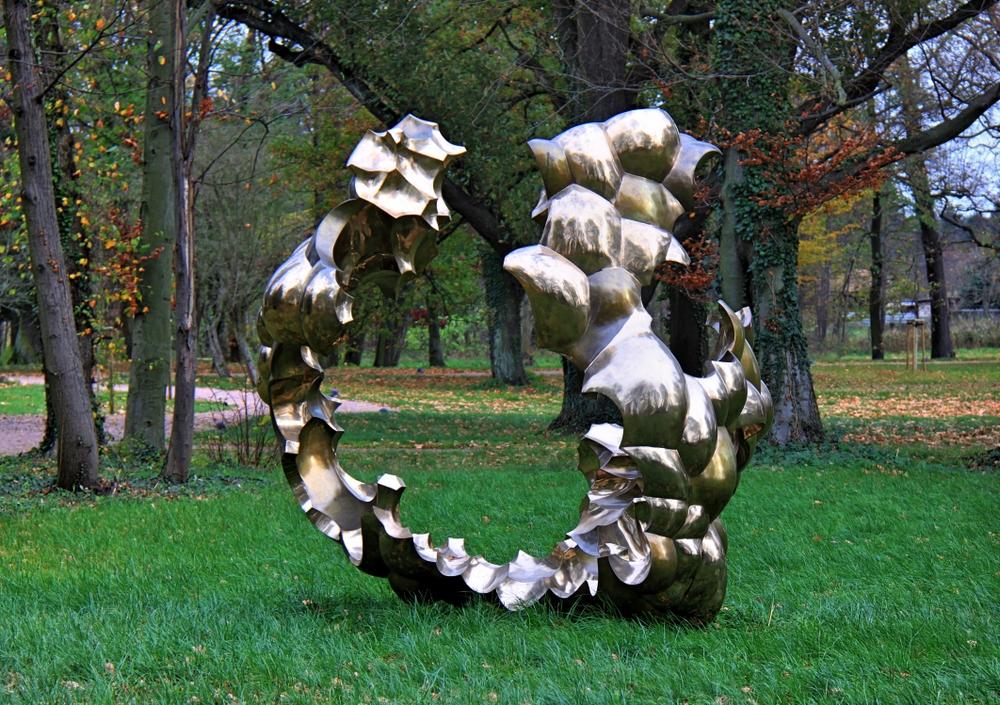 Skulptur im Schlosspark Hohenbocka (1)