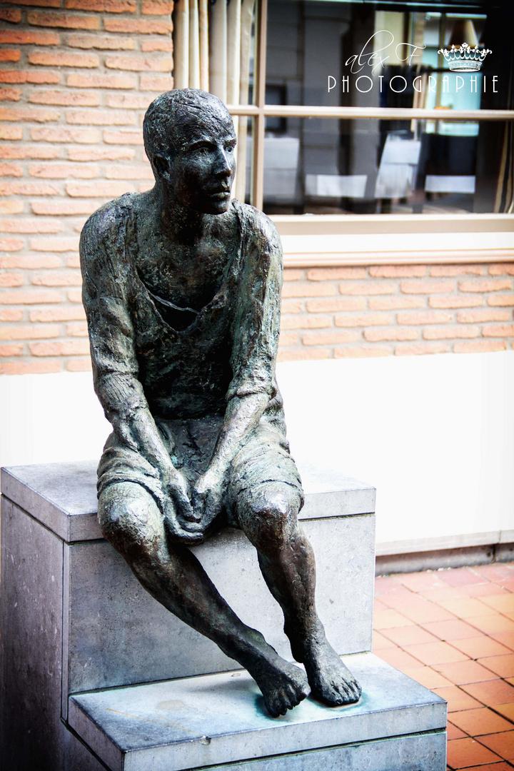Skulptur in Blankenberge