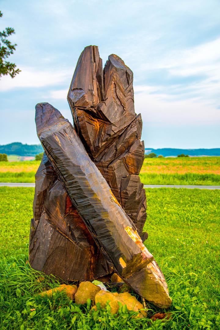 Skulptur in Untermerzbach