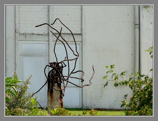 Skulptur oder Schrott?