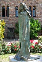 Skulptur St. Hildegard