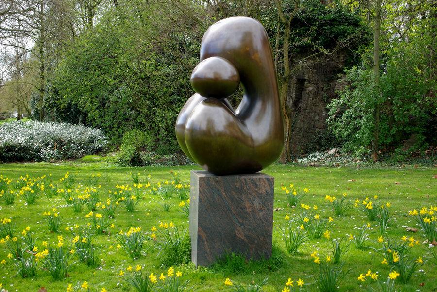 Skulptur von Lucien Wercollier