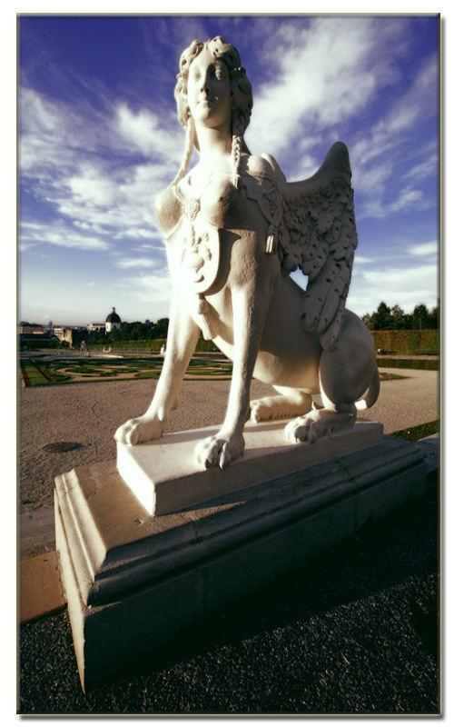 Skulpture im Schloss Belvedere