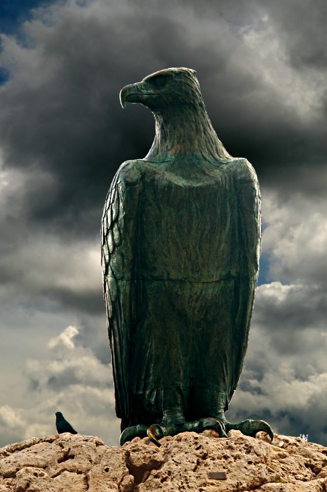Skulpturen am Schlern/Rosengarten: Großes Vorbild