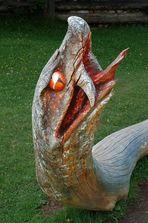 Skulpturen am Schlern/Rosengarten: Mitten ins Auge getroffen