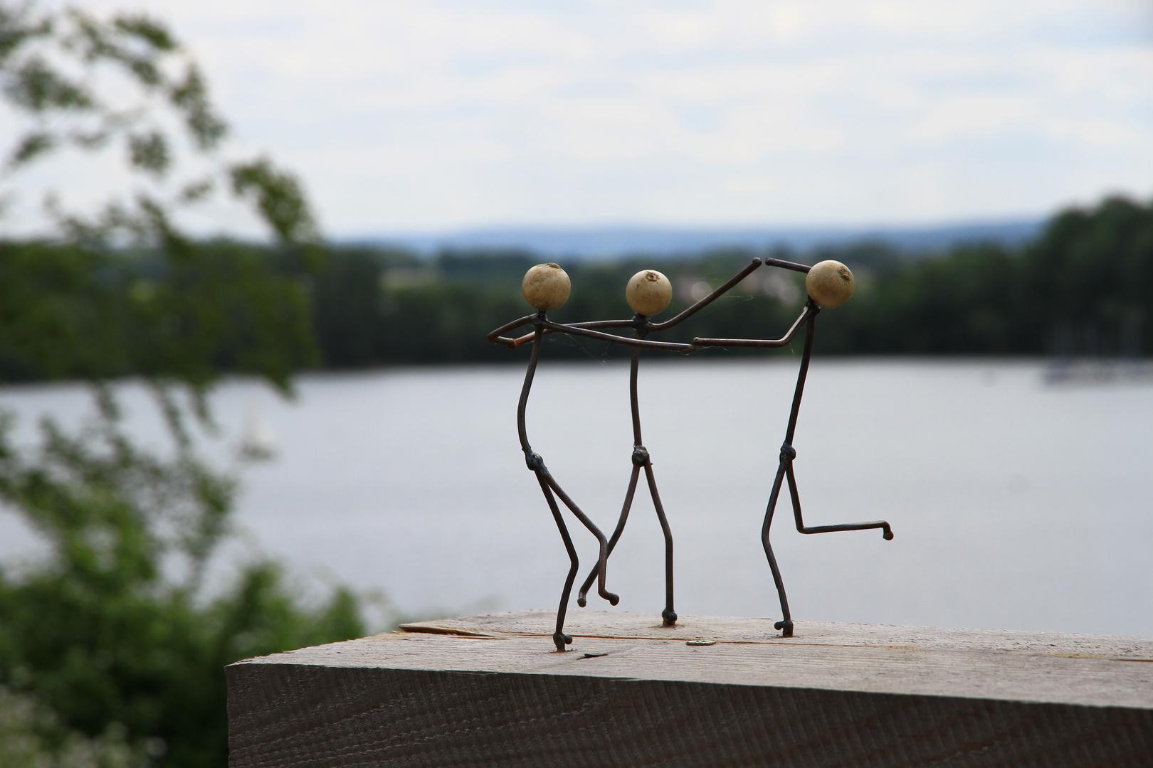 Skulpturen auf der LAGA 2014