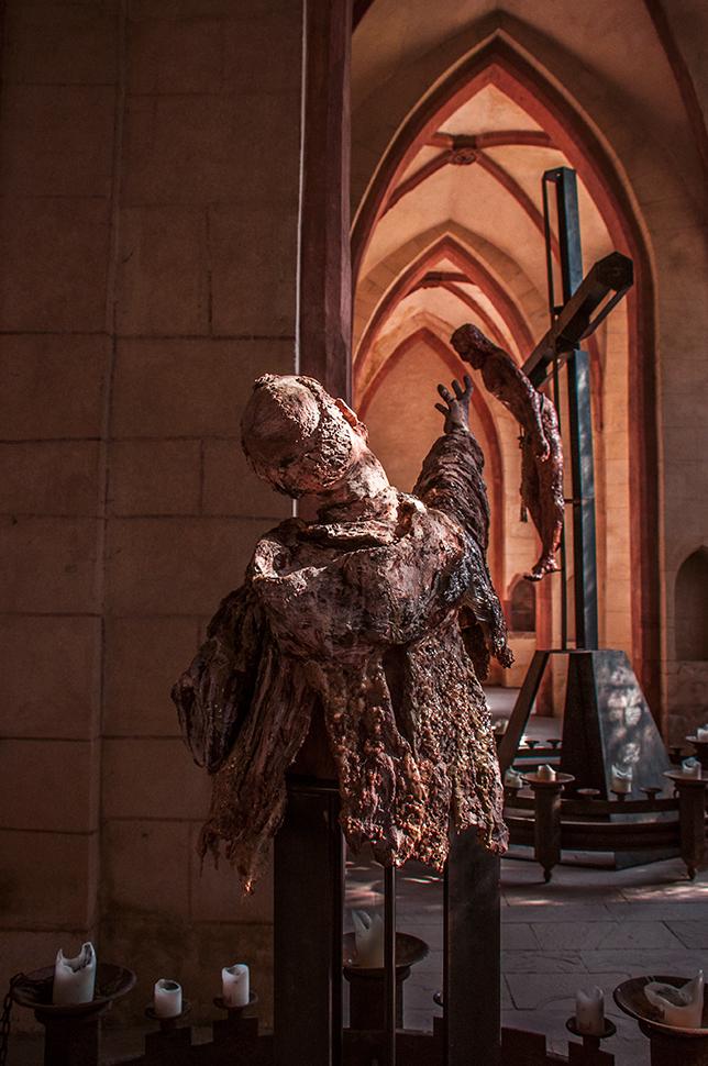 Skulpturen in der Klosterkirche Eberbach