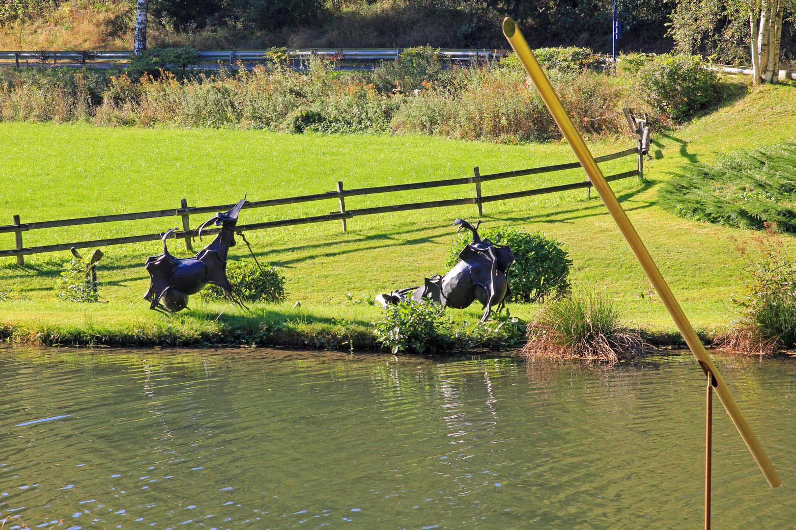 Skulpturenpark Klute - Waldemai in Niedersorpe bei Schmallenberg im Hochsauerland 32