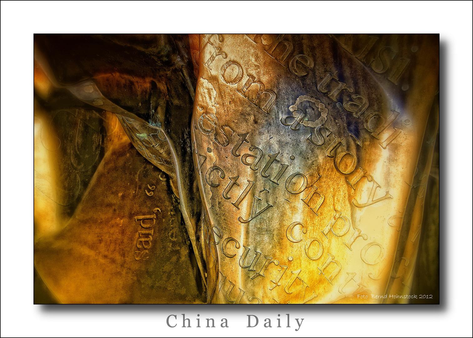 Skulpturensammlung Viersen  .....  China Daily