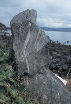 Skulpturstein auf den Lofoten