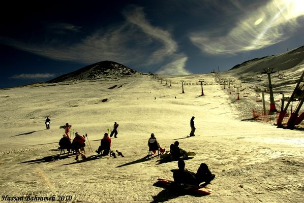 sky and ski by hassan bahrameh